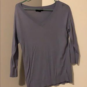 Mission lilac 3/4 length sweater- good condition